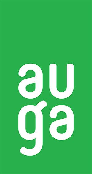 AUGA logo green