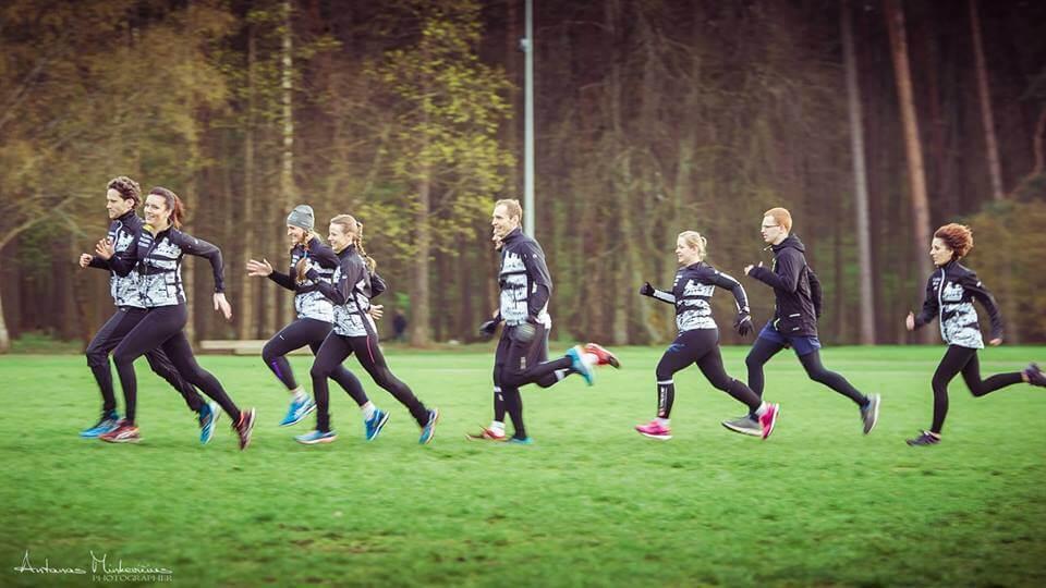 Vilniaus bėgimo klubo treniruotė